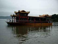 Boat on the West Lake