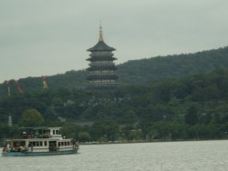 Pagoda on the west lake
