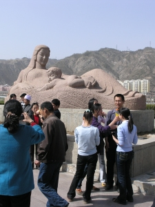 Mother of the Yellow River Sculpture