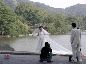 Scenes from West Lake - wedding photos