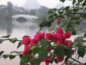 Town park in Guilin